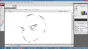 sketching manga character conan